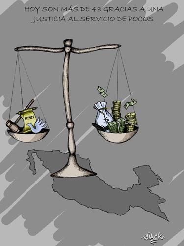 """""""Una justicia al servicio de pocos"""" de Óscar Salazar Salvador"""