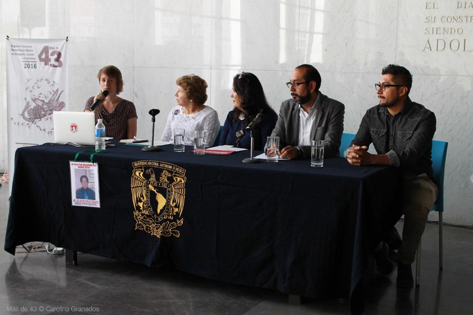 Conferencia de prensa Más de 43