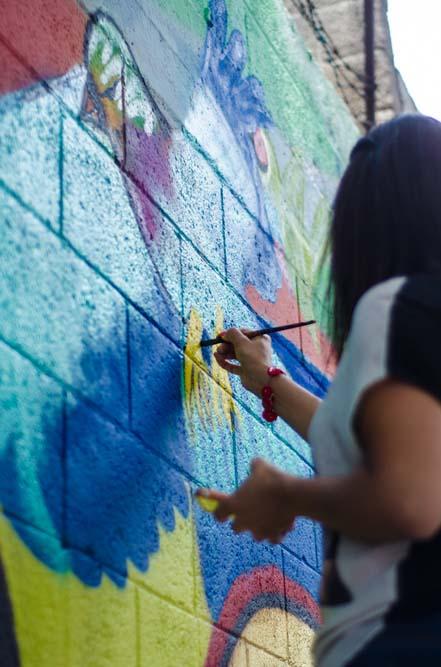 Muros sin Fronteras en Portales