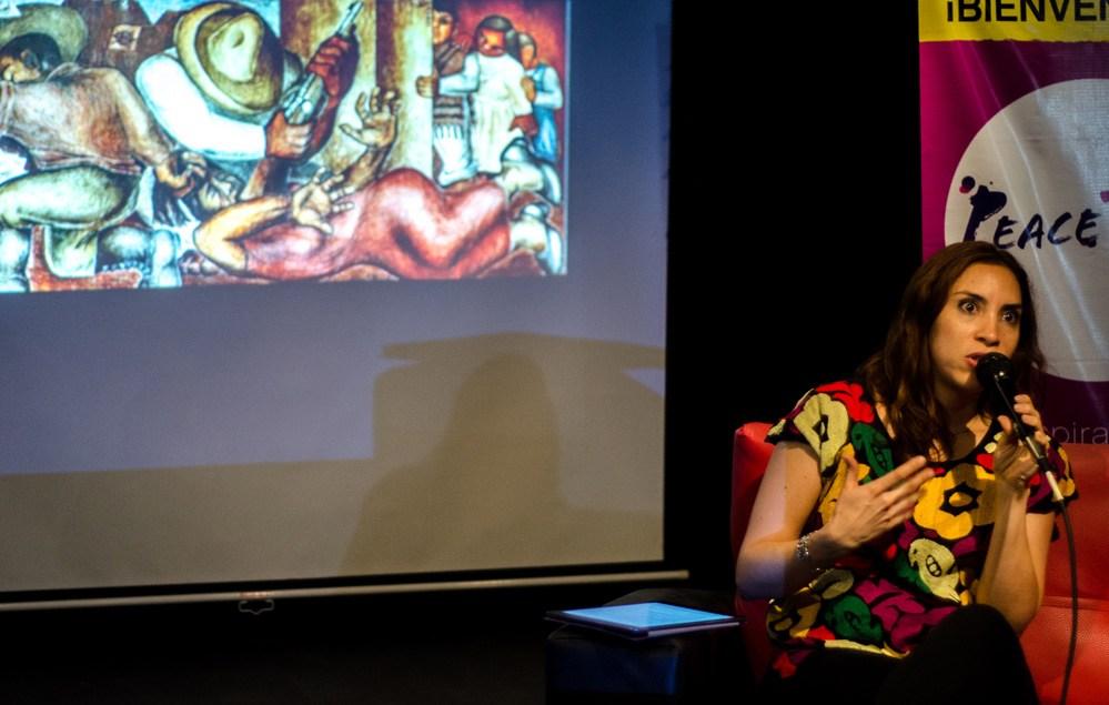 PeaceTalk ¿Los Diegos pintan murales y las Fridas de caballete?