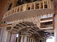 Balcony and Barrel Ceilings   Masterpiece Home Builder