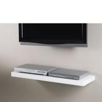 Floating Media Shelf | floating media shelf wall mount ...