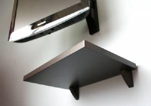 Black Clip Shelf Kit 450x400x25mm Mastershelf