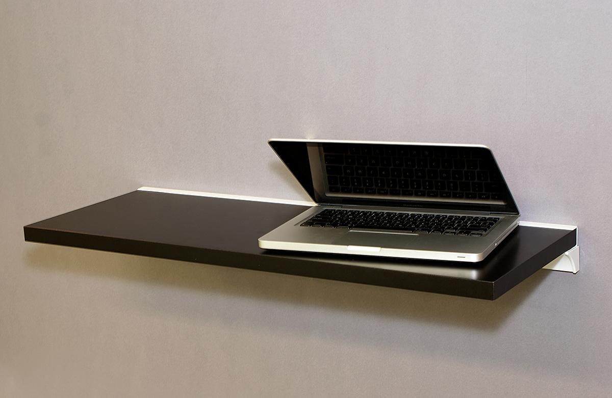 Black Shelf Slot Kit 800x300x25mm Mastershelf