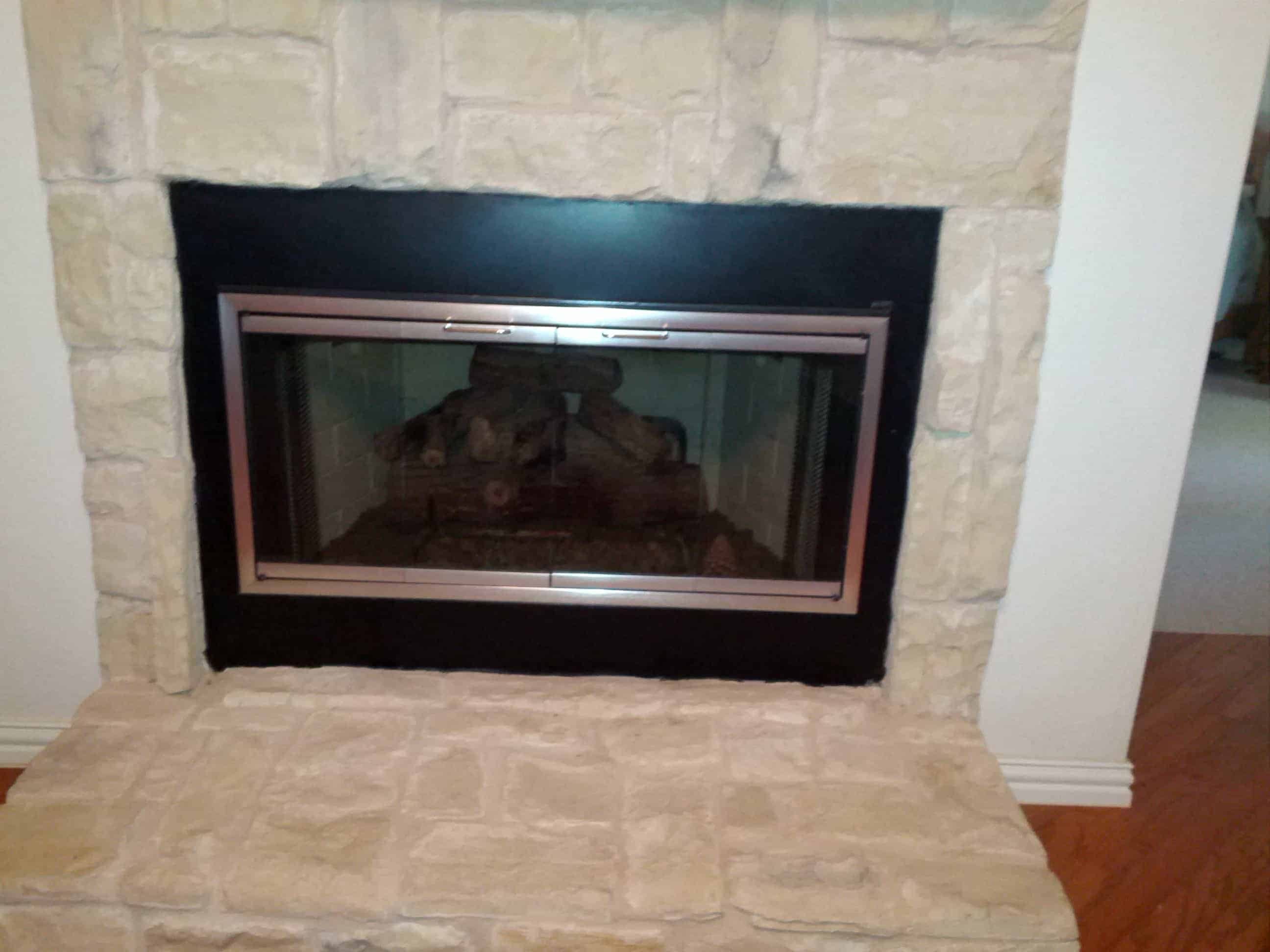Custom Glass Fireplace Doors We Replace Fireplace Doors Dallas Mastersservices