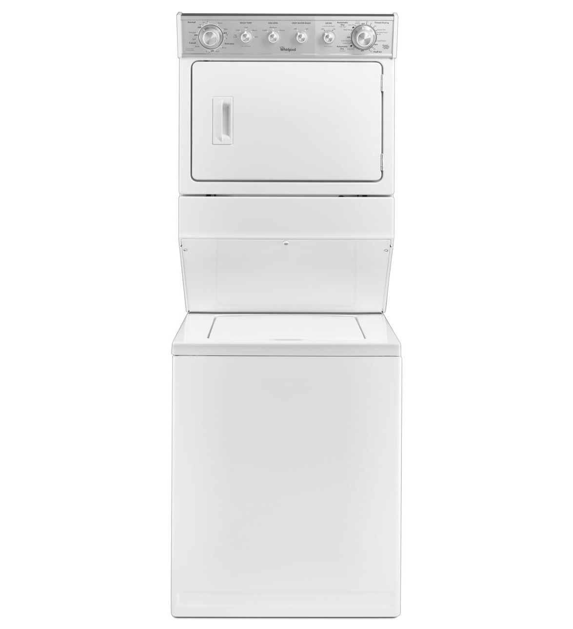 Whirlpool Appliances Canada Whirlpool Thin Twin Washer Dryer Combination White