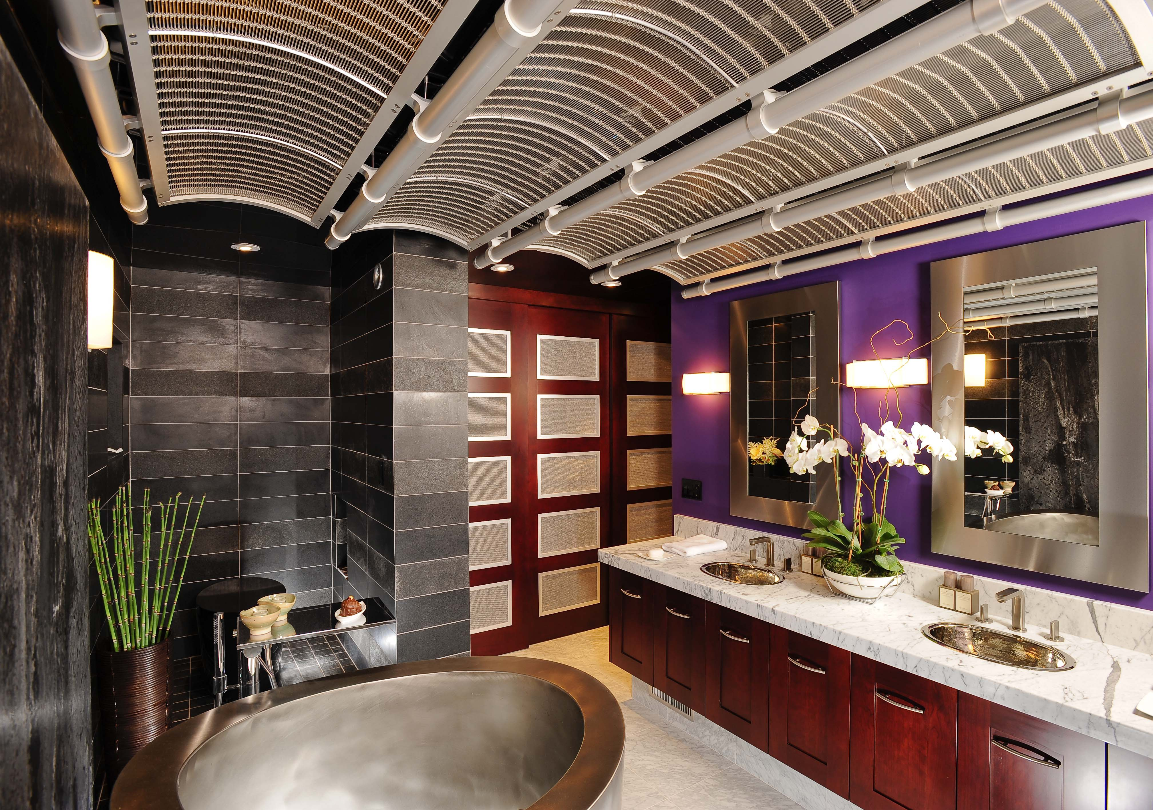 Japanese Decorating Asian Contemporary Bathroom By Danenberg Design