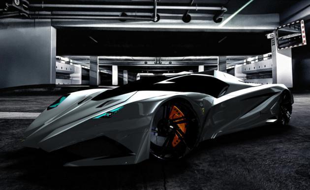 Ghost House Wallpaper Hd 3d Lamborghini Ferruccio Concept