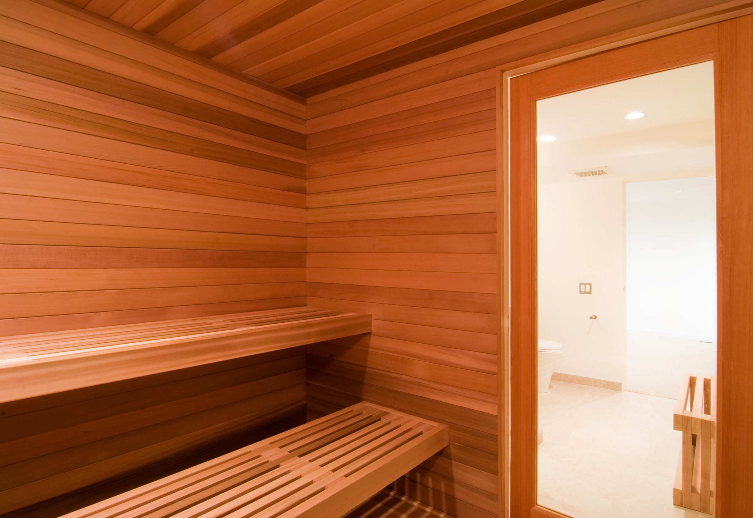 Moderne Sauna Modern Sauna Design By Build Llc