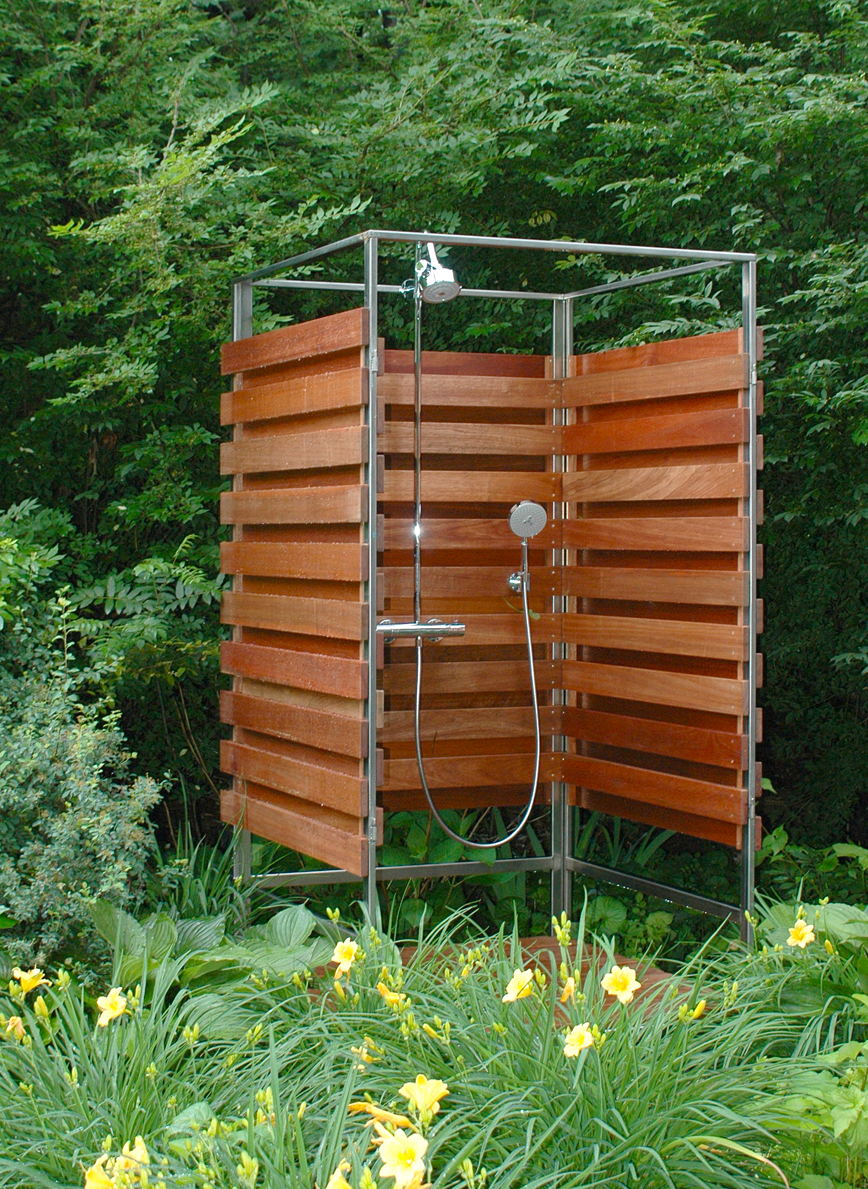 Make An Outdoor Shower Outdoor Shower By Oborain