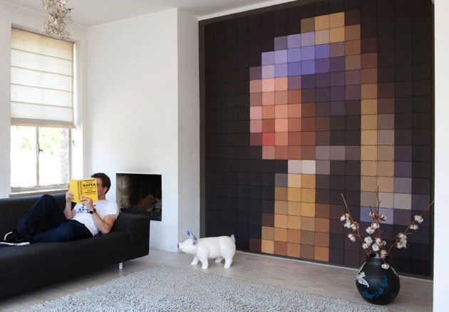 Poster Ophangen Pixelated Art Pieces By Ixxi