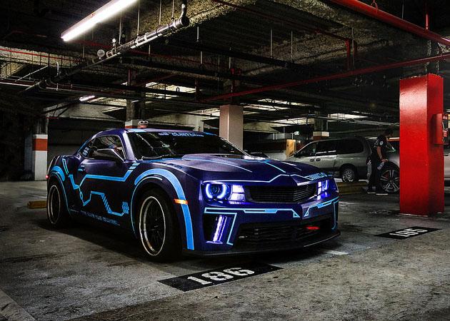 Exotic Cars Wallpaper Pack Tron Camaro