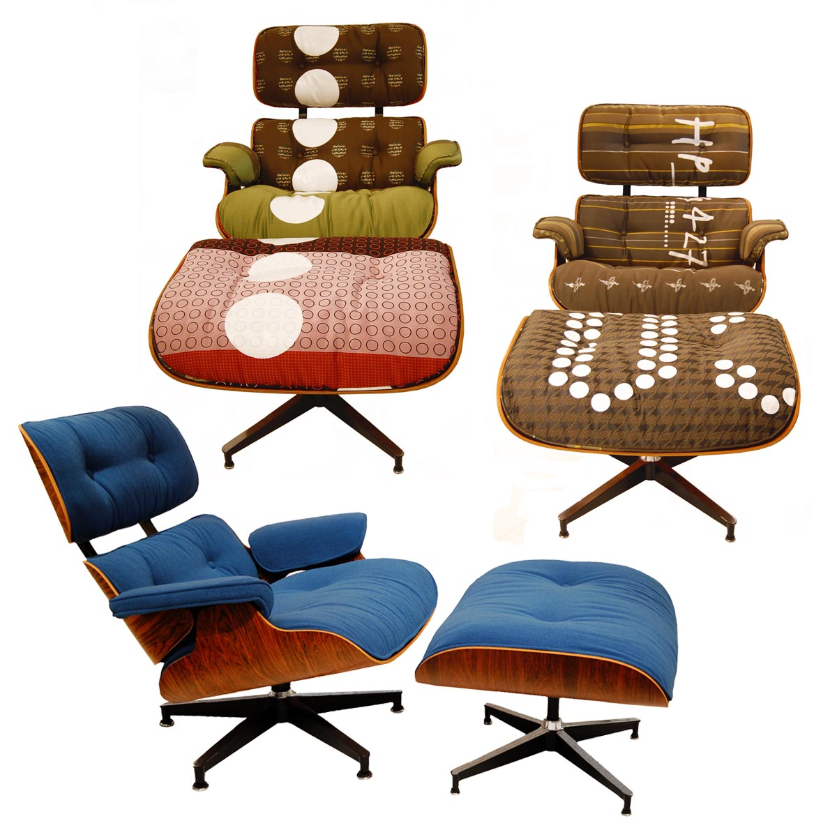 Eames Lounge Office Chair Vintage Eames Lounge Chairs Get Maharam Makeovers