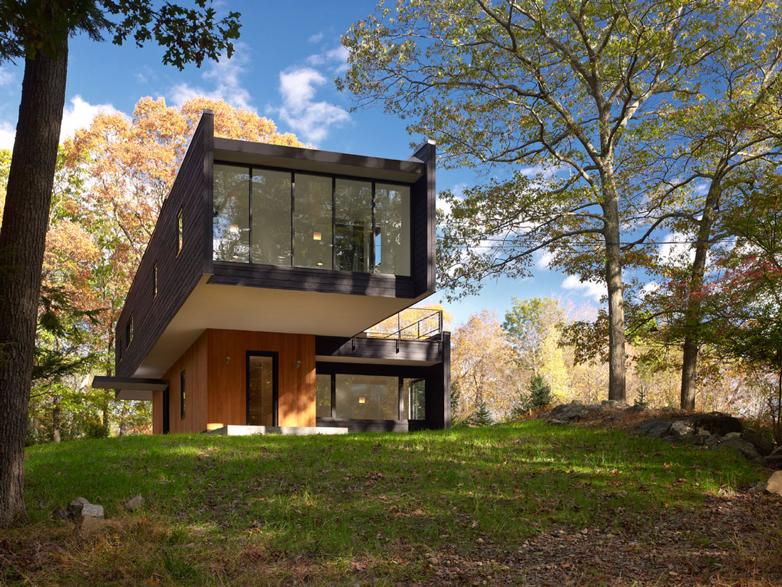 Container Haus New York Waccabuc House By Rafael Viñoly Architects