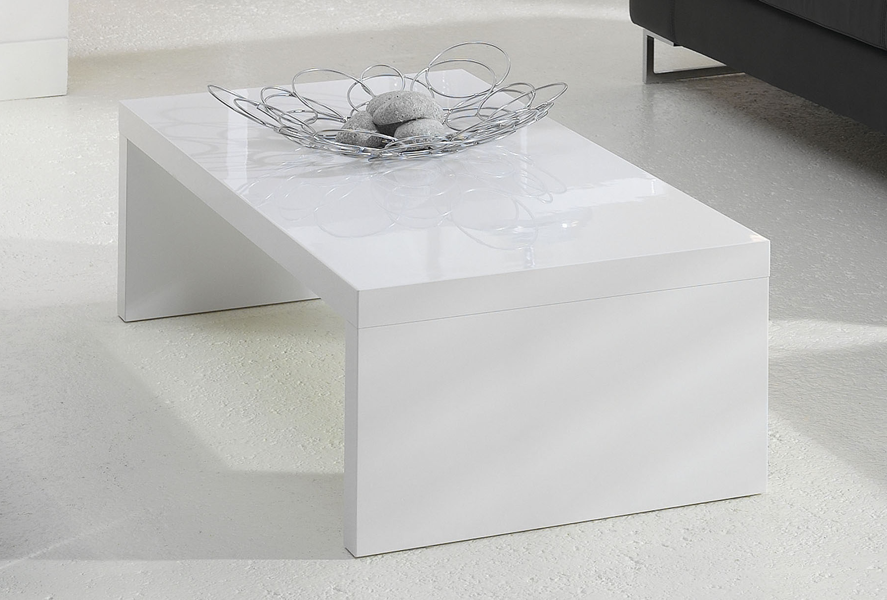 Table Basse Laquee Blanc Table Basse Laquee Blanche