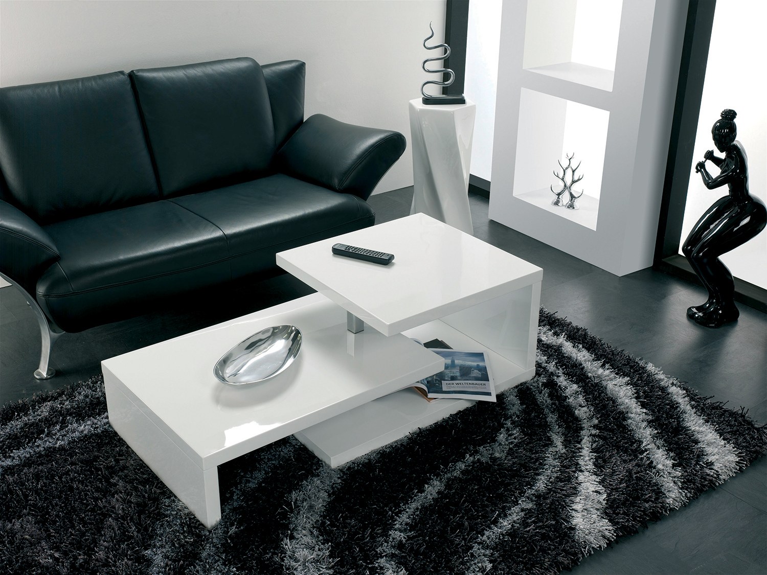 Table Salon Blanc Bien Choisir Une Table Basse Pour Son Salon