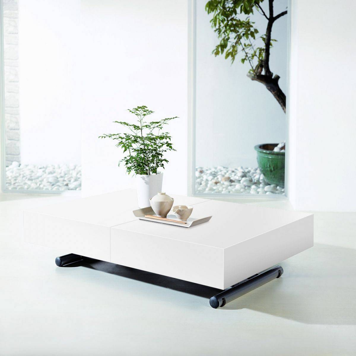 Table Basse Relevable Design Table Relevable Pas Cher
