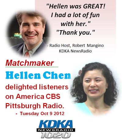 Hellen Chen on KDKA