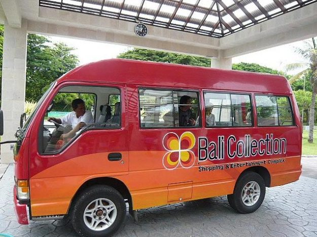 Bali Collection Shuttle Bus