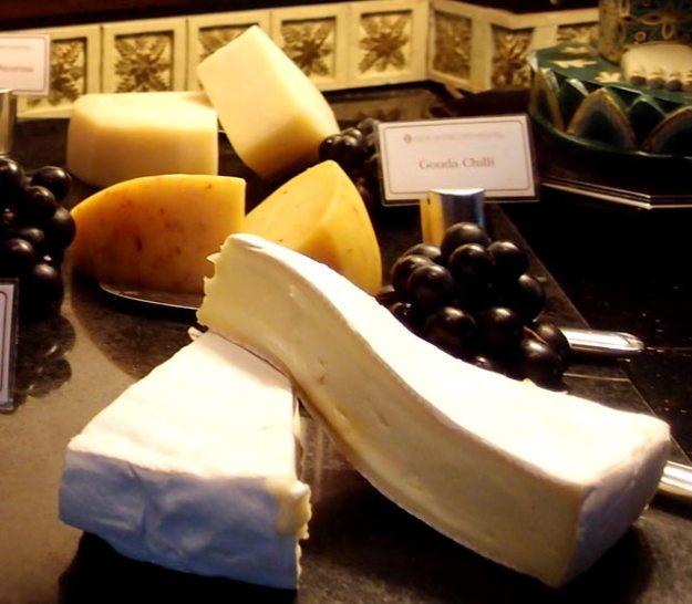巴里島洲際飯店Club Lounge早餐Brie Cheese
