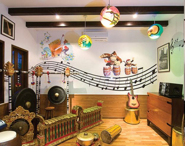 聖瑞吉斯Children music room