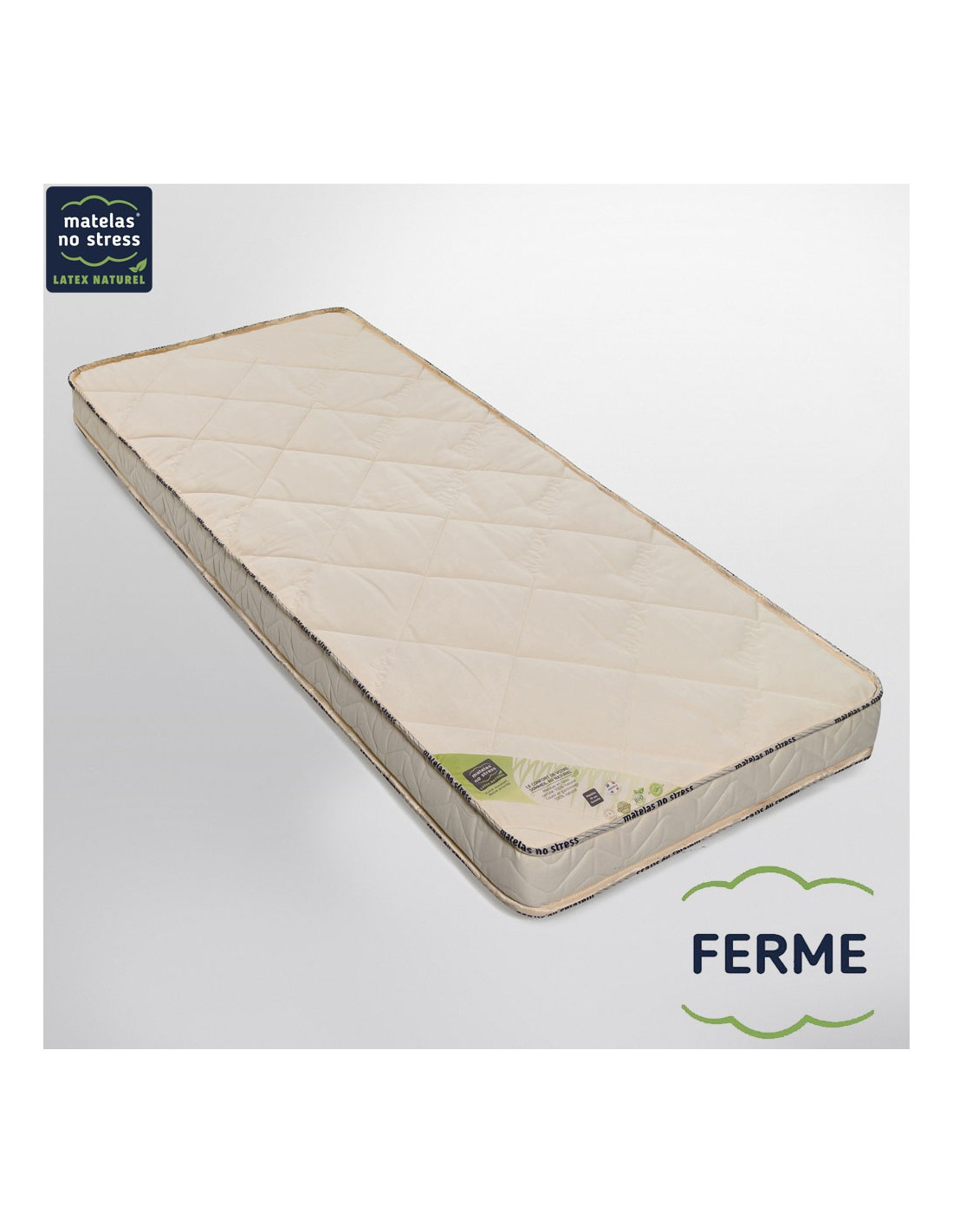 Matelas Latex Bio 160x200 Matelas Latex Naturel 160x200 Bio Charme Médium 14 Cm