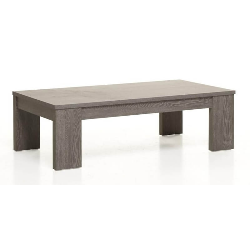 Table Basse Rectangulaire Contemporaine Coloris Cottage Oak Avalone - Table Basse Contemporaine