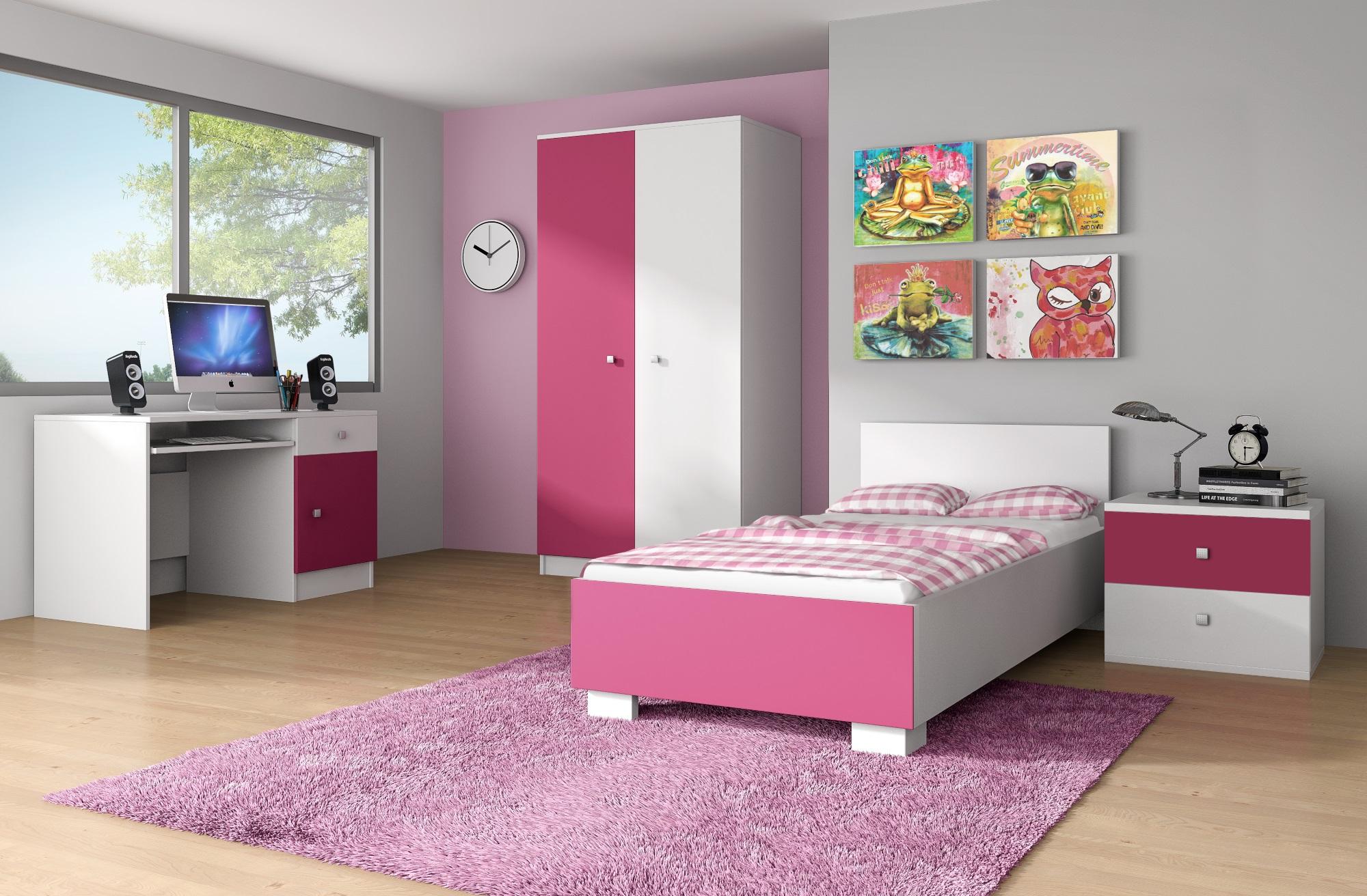 Chambre Complete Blanche | Chambre A Coucher Complète Design Blanche ...