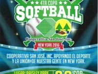 INVITACIÓN 4TA. COPA DE SOFTBALL EN NEW YORK