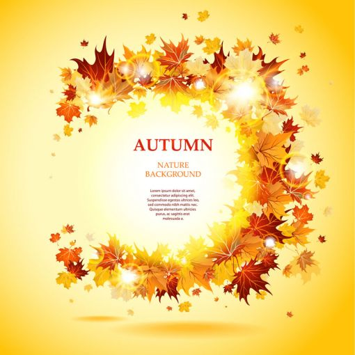 Fall Winter Wallpaper Free 秋を表現出来るクールすぎるデザイン ベクター素材 Materialandex