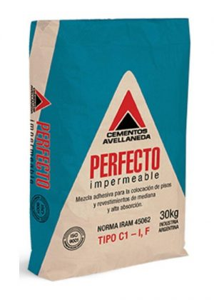 Perfecto Impermeable Avellaneda x 30 Kg.