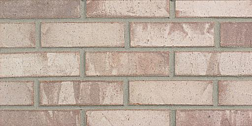 Brick And Stucco House Morning Dove Extruded - Grey Glengarry Brick Colors