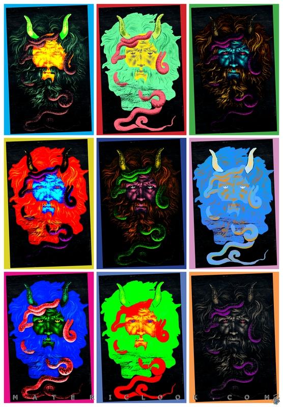 MatericLook: NoID0_SatanicPOP by Francesco Perratone