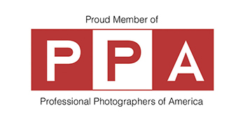 logo for professional photographers of america
