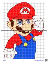Mario Coordinate Graphing