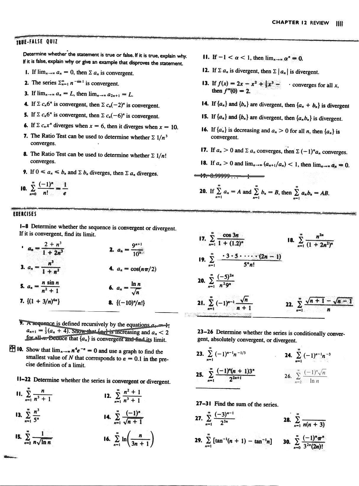 Study Guide 3 Calculus Homework And Study Guide