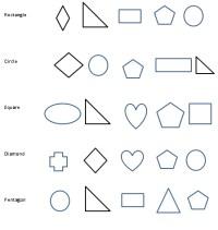 Kindergarten shapes worksheets, free printables pdf ...