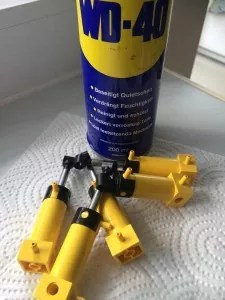Lego Phneumatikteile pflegen,a reinigen