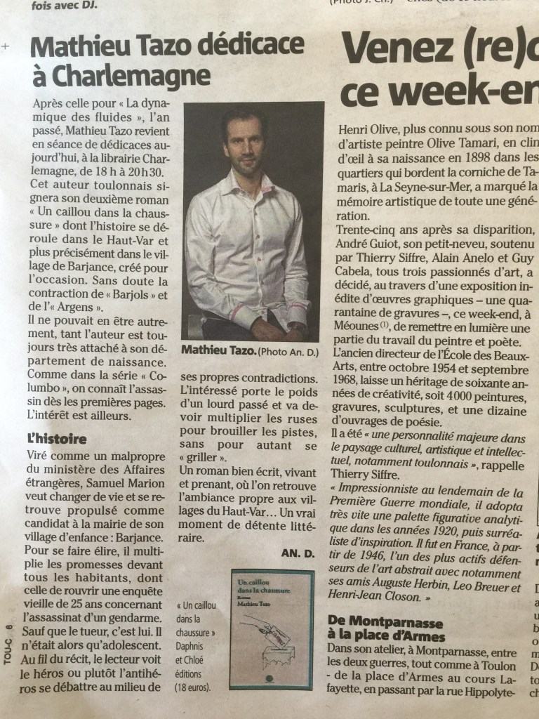Var Matin Article