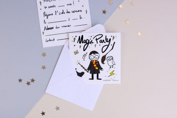 Harry Birthday Invitations Mathilde Cabanas Shop Bisou