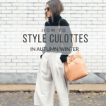 How to Style Culottes in Autumn/Winter