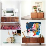 Simple Home Updates: 10 Ways to Style a Sideboard