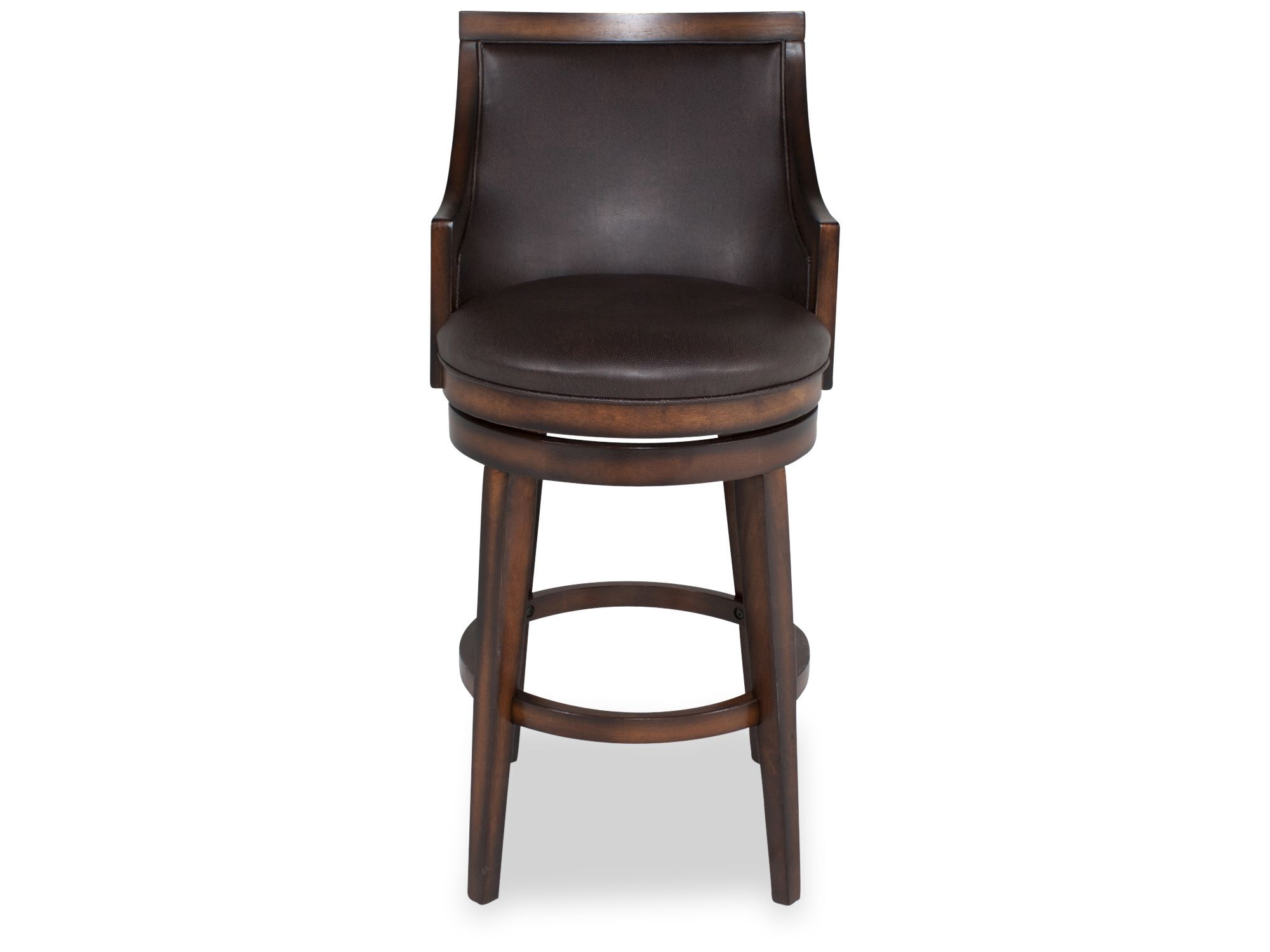 Contemporary Bar Stools Contemporary Bar Stool In Brown Mathis Brothers Furniture
