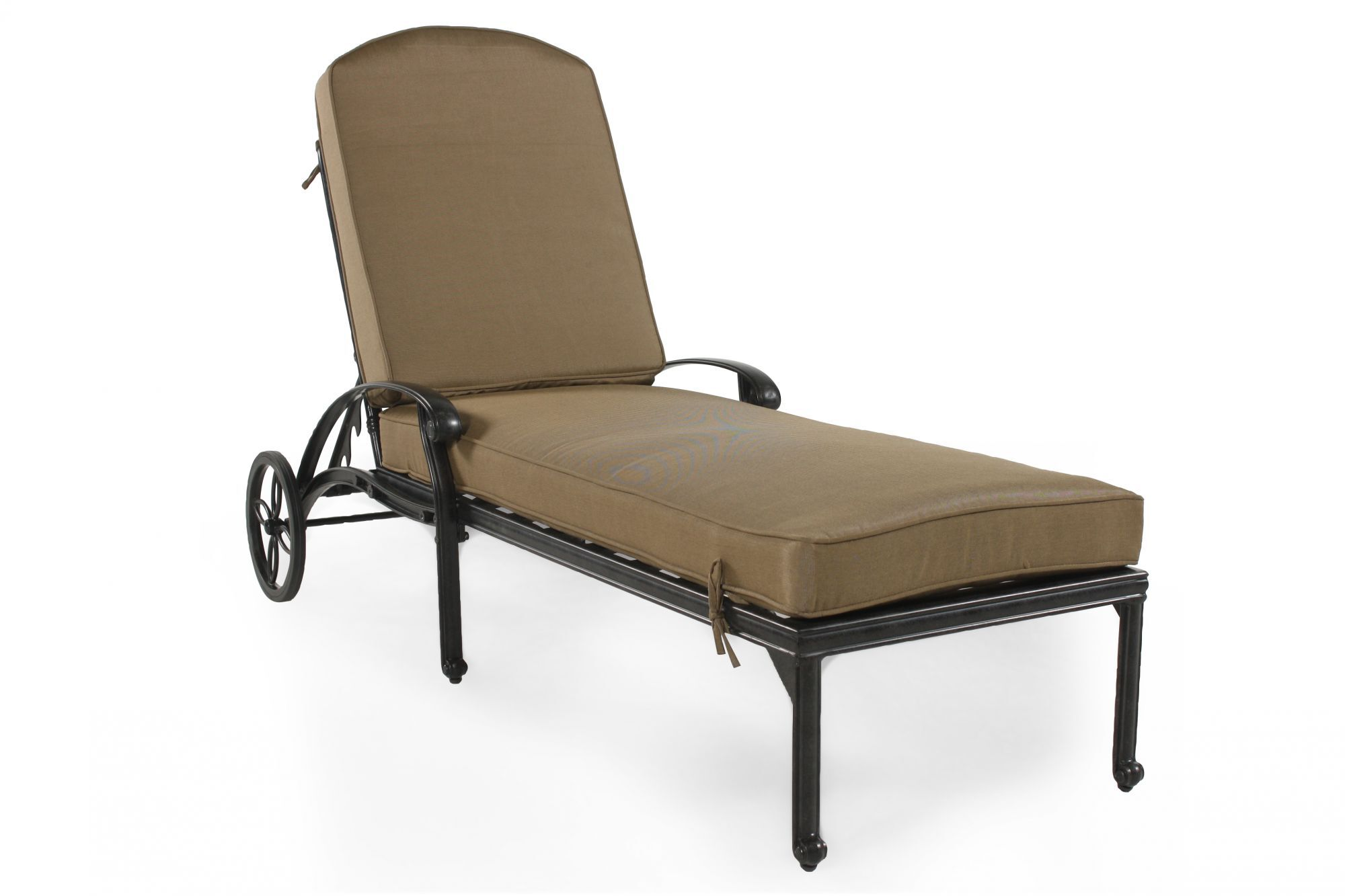 Aluminium Lounge Aluminum Chaise Lounge In Bronze Mathis Brothers Furniture