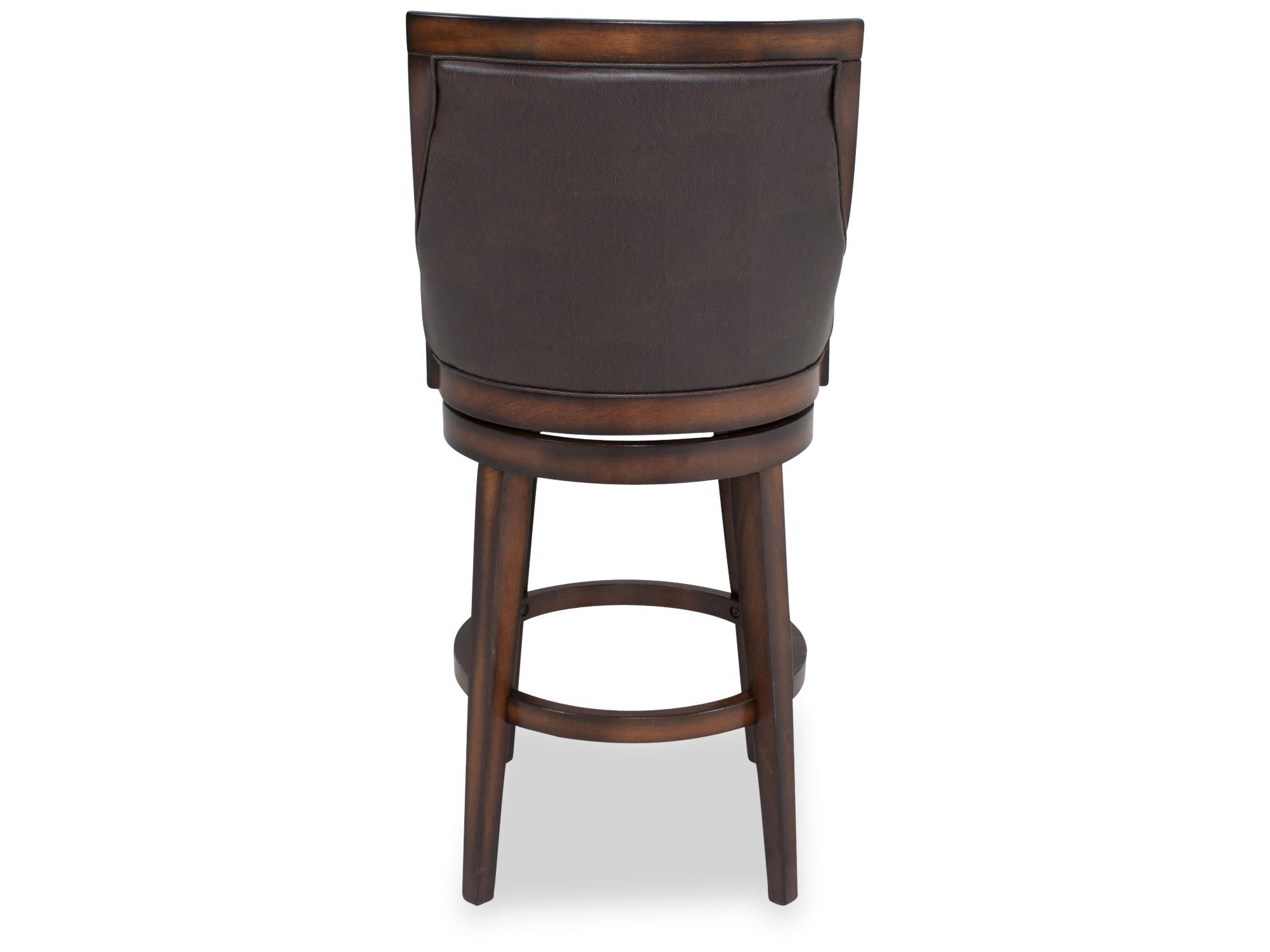 Contemporary Breakfast Bar Stools Contemporary Bar Stool In Brown Mathis Brothers Furniture