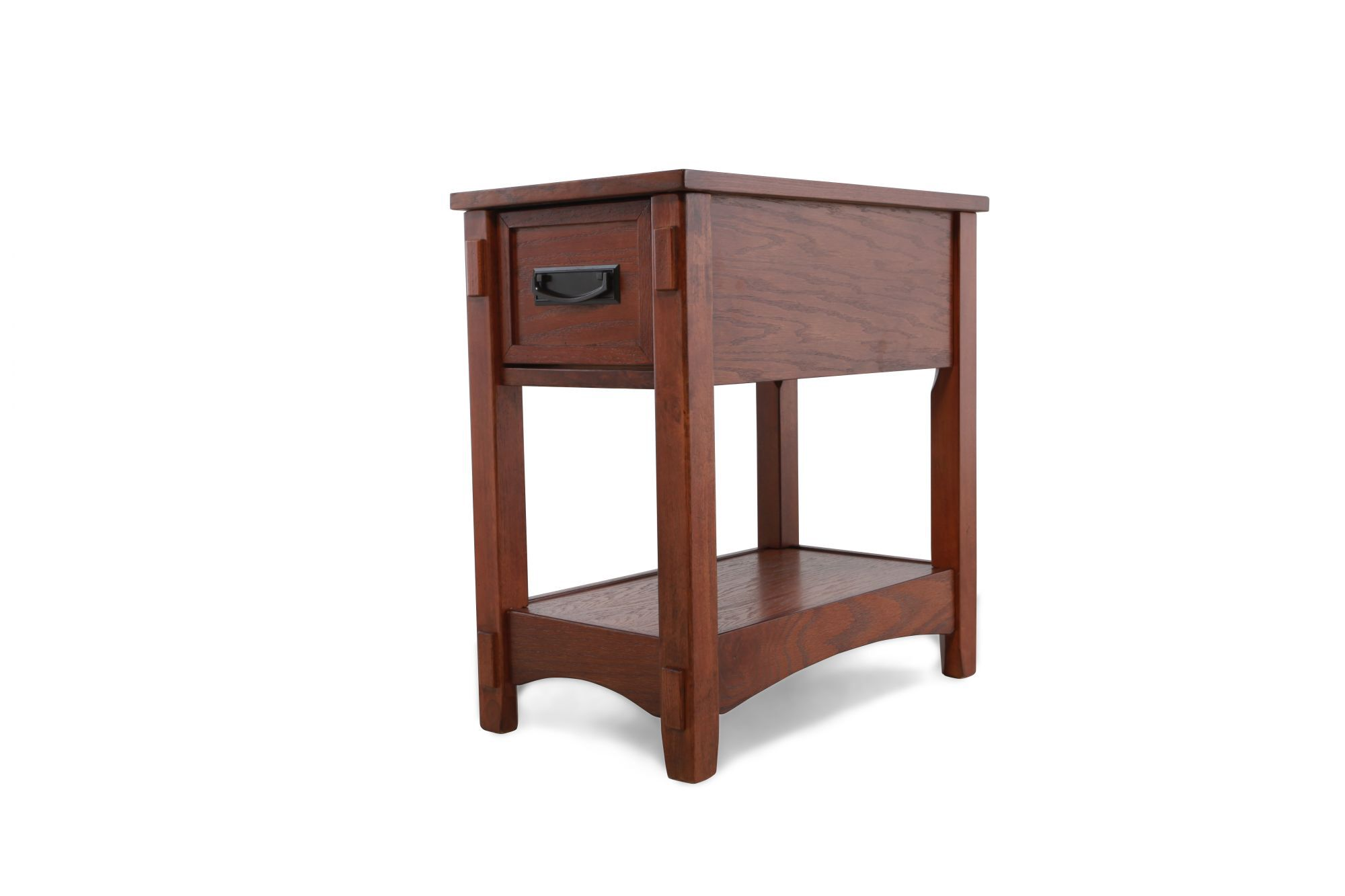 Modern Chairside Table Contemporary One Drawer Chairside Accent End Table In