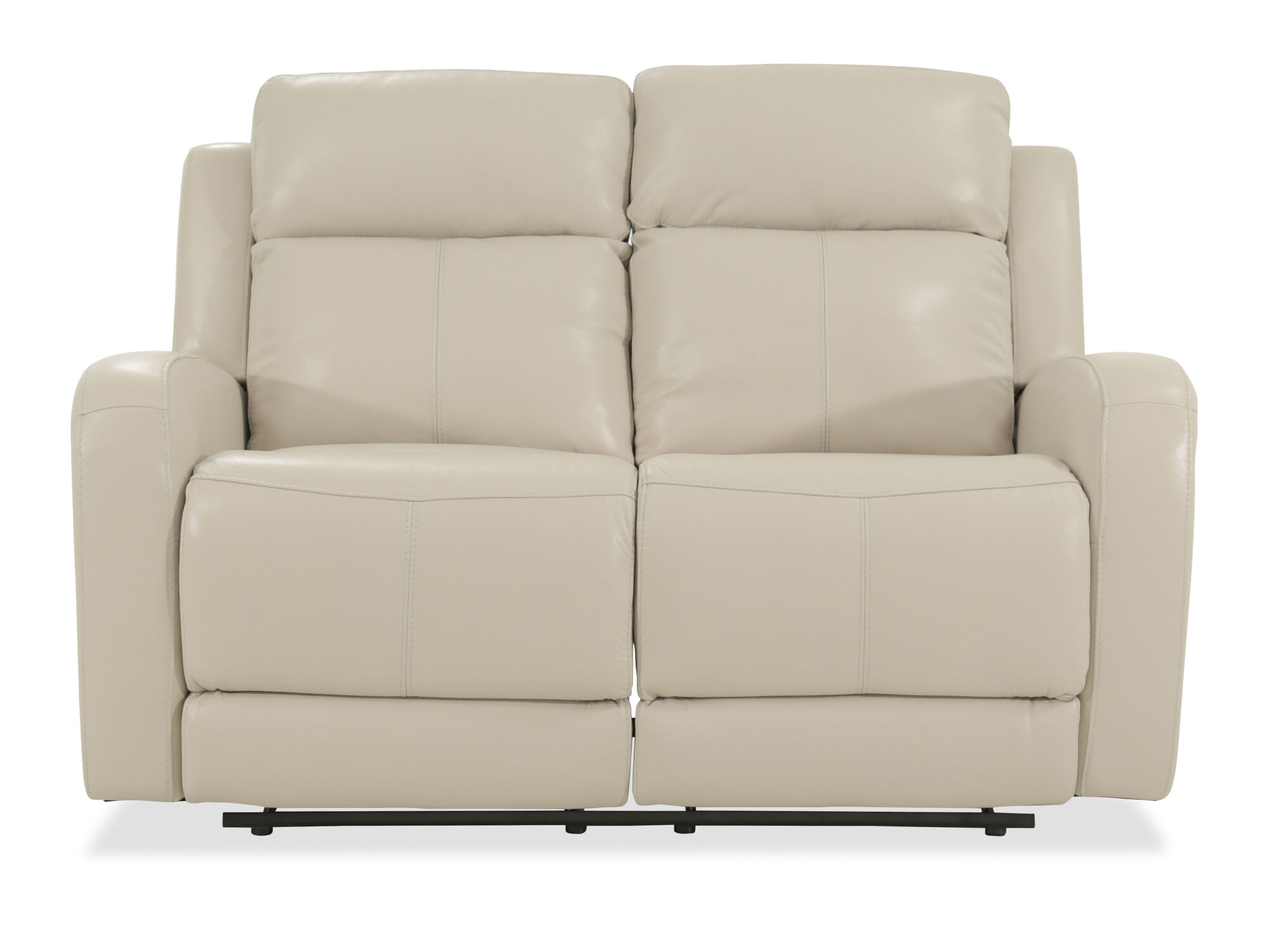 Sofa 60er Power Reclining Leather 60