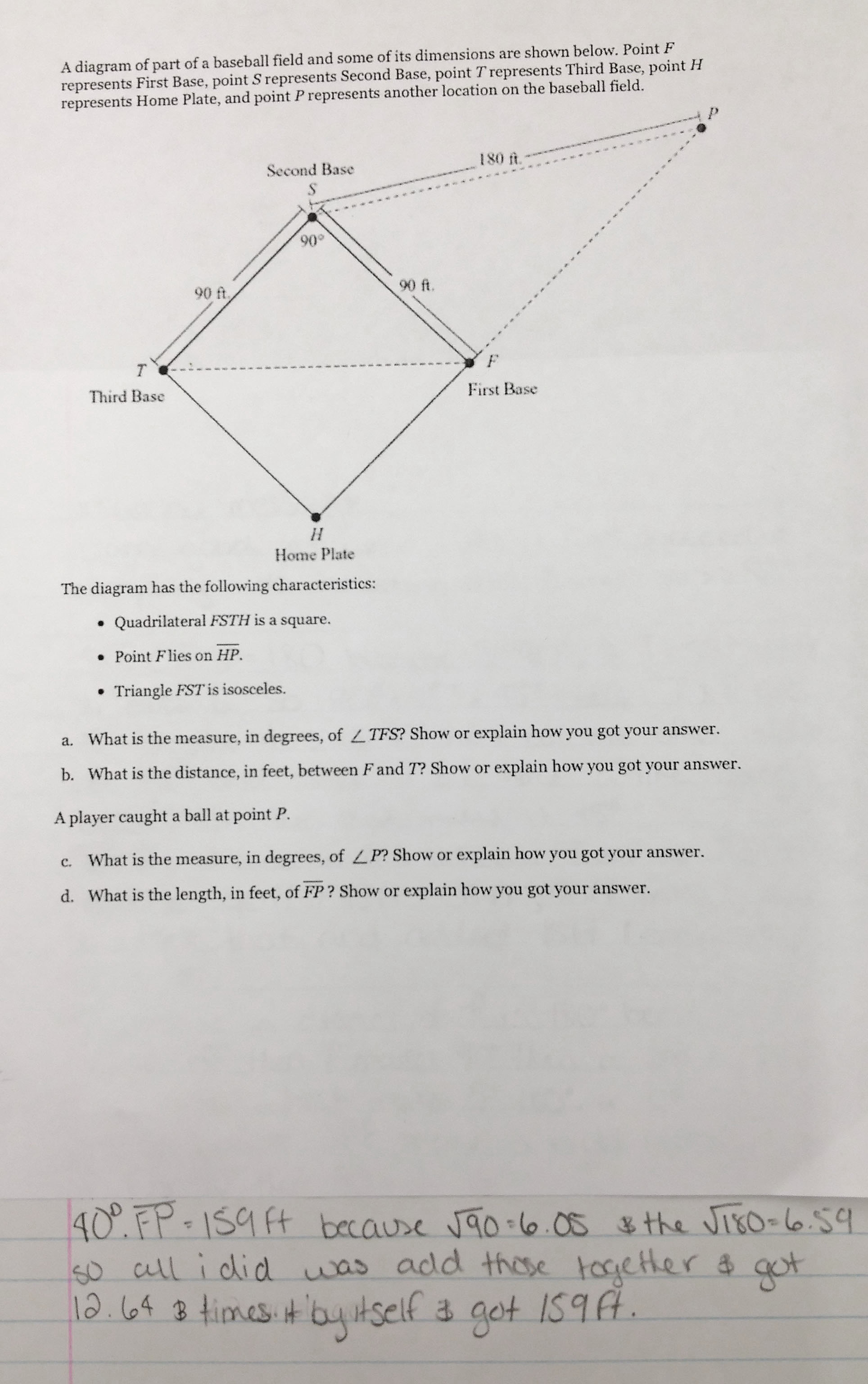 pythagorean theorem math mistakes what made this question hard