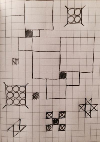 Zentangle, Graph Paper, and Pancake Art Math Munch - math graph paper
