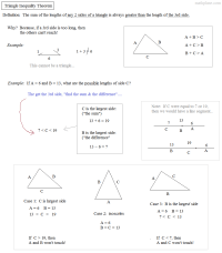 Triangle Inequalities Worksheet - resultinfos